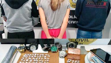 Photo of Três presos por assalto em Três Coroas