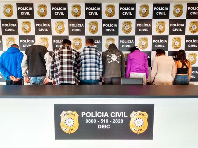 prespol - Polícia prende onze pessoas em Porto Alegre, Viamão e São Leopoldo