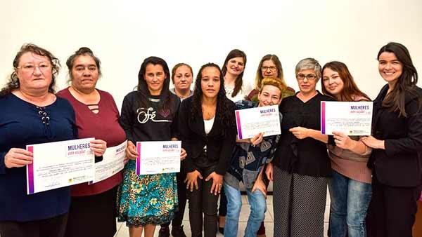 projeto Mulheres em Ação de Caxias do Sul 2 - Formatura da quarta edição do projeto Mulheres em Ação de Caxias do Sul