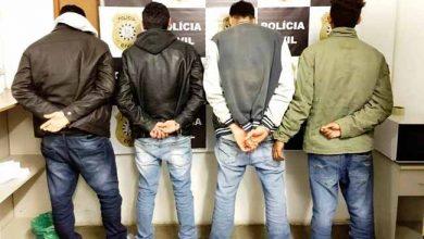 tráfico de drogas em Uruguaiana 390x220 - Quatro presos por tráfico de drogas em Uruguaiana