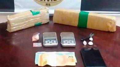 trafgram 390x220 - Operação contra o tráfico de drogas é realizada em Gramado