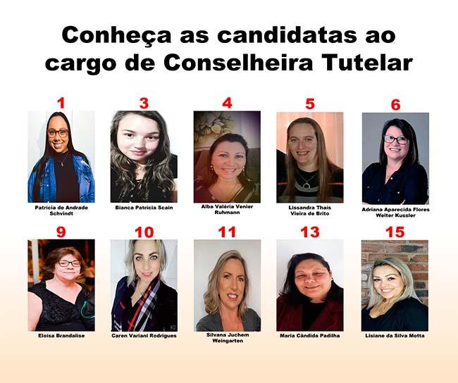 Revista News tutcai Conheça as candidatas ao Conselho Tutelar de São Sebastião do Caí