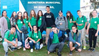 Photo of Alunos da rede municipal de Canela visitam o Sesi com@Ciência