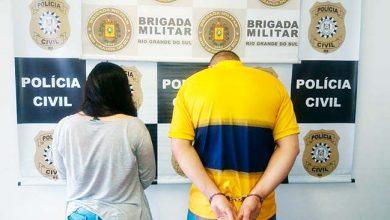 Photo of Preso casal com com 4kg de maconha em Viamão