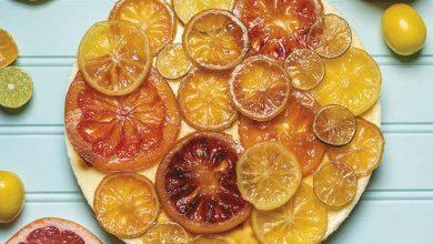 Photo of Cheesecake com frutas confitadas