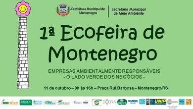 Photo of 1ª Ecofeira de Montenegro acontece dia 11 de outubro