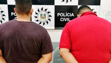 Photo of Polícia prende dois homens por tráfico de entorpecentes em Sapiranga