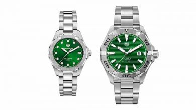 Photo of TAG Heuer lança relógios verde esmeralda
