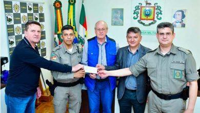 Photo of Fenamilho repassou R$ 38 mil para a Brigada Militar em Santo Ângelo