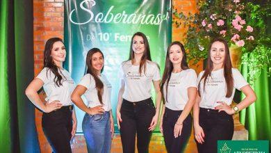 Photo of Candidatas ao título de Soberanas de Arvorezinha são apresentadas para a Femate