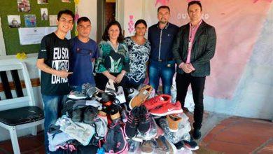 Photo of PMSM doa itens de vestuário para entidade de apoio a dependentes químicos