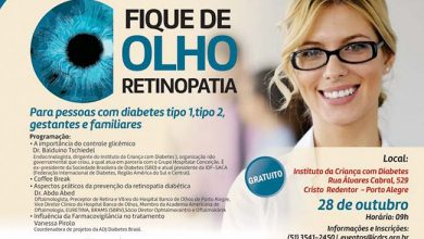 Photo of Retinopatia Diabética é tema de evento gratuito em Porto Alegre