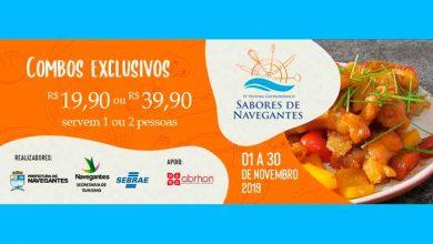 Photo of Festival Gastronômico Sabores de Navegantes terá valores de R$ 19,90 ou R$ 39,90