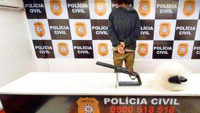 Photo of Preso por tráfico de drogas em Viamão