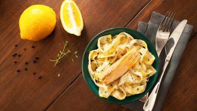Photo of Papardelle com limão siciliano e atum