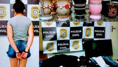 Photo of Mulher é presa em Santo Ângelo com diversos objetos furtados