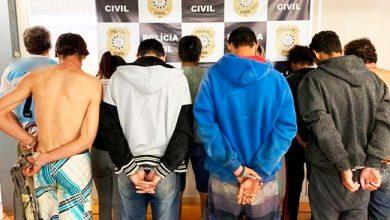 Photo of Treze presos em operação policial realizada em São Luiz Gonzaga