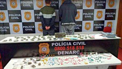 Photo of Denarc desarticula tele-entrega de drogas na região metropolitana