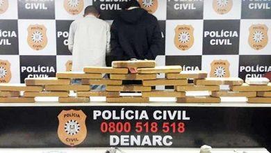 Photo of Dois presos em flagrante por tráfico de drogas em Cidreira