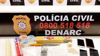 Photo of Polícia prende mulher por tráfico de drogas em Nova Petrópolis