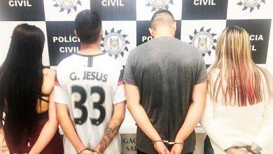 Photo of Quatro presos em Sapiranga por tráfico de drogas
