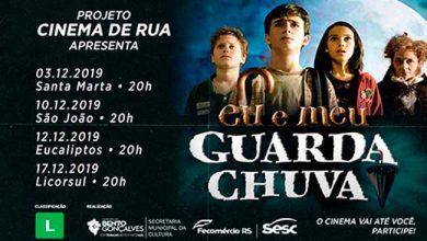Photo of Confira as sessões do Cinema de Rua em Bento Gonçalves