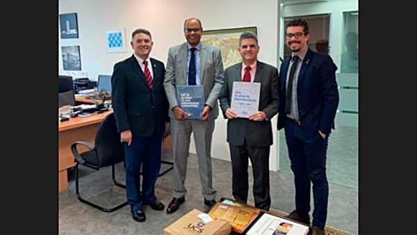Embaixada do Brasil em Singapura recebe membro da CIC Caxias - Revista News