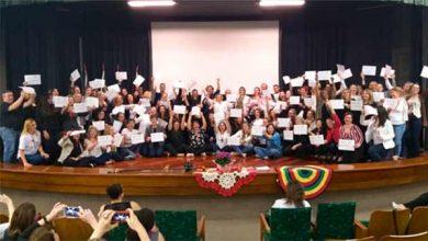 Photo of 1º Seminário de Justiça Restaurativa forma voluntários do curso de capacitação
