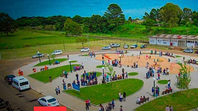 Praça da Ferrovia foi revitalizada em Vacaria - Revista News