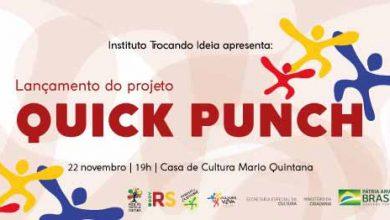 Photo of Projeto Quick Punch na Casa de Cultura Mario Quintana