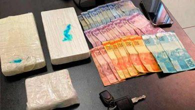 Photo of Preso homem de 62 anos com 2,5 quilos de cocaína em Santa Maria