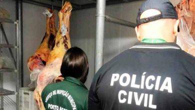 Photo of Açougue e entreposto de carnes são interditados em Porto Alegre