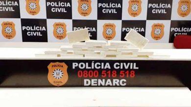 Photo of Apreendidos 18,5 kg de cocaína pura em São Leopoldo
