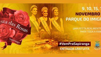 Photo of Confira os shows da 36ª Festa das Rosas de Sapiranga