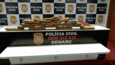 Photo of Apreendidos 20 quilos de maconha em Viamão