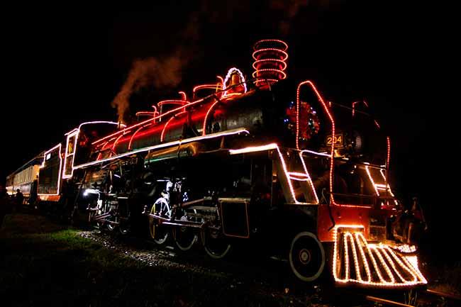 Projeto Natal nos Trilhos inicia em Cruz Alta - Revista News