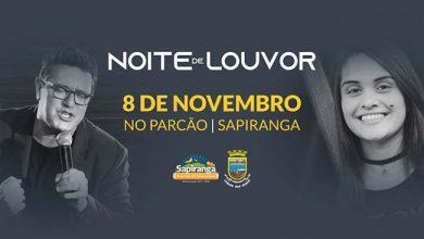 Photo of Noite de Louvor é atração em Sapiranga dia 8 de novembro