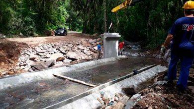 Photo of Seguem obras da nova ponte na Linha Feijó