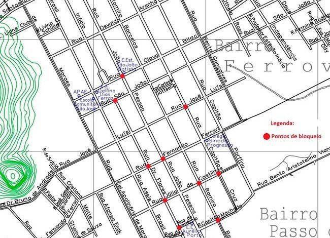 Santa Maria terá bloqueio de ruas neste domingo - Revista News