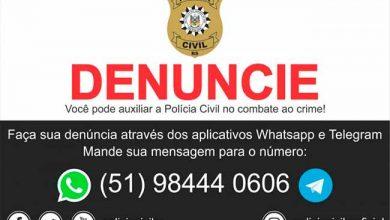 Photo of Polícia Civil RS tem novo WhatsApp e Telegram para denúncias