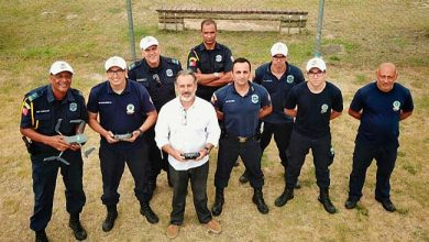 Photo of Guardas municipais fazem curso para uso de drones