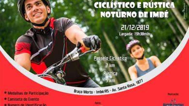 Photo of Imbé sedia 2° Passeio Ciclístico e Rústica Noturna de Natal