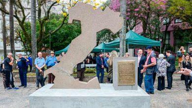 Photo of Monumento à Itália recebe cuidados e paisagismo, em Caxias do Sul