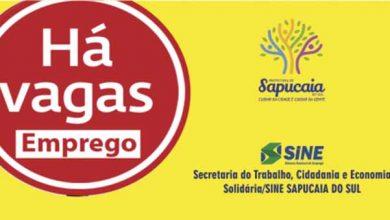 Photo of Sine de Sapucaia do Sul tem vaga para cargo administrativo