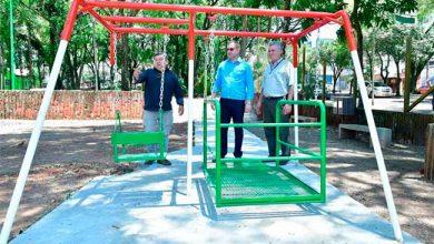 Photo of Santo Ângelo instala balanço para crianças cadeirantes