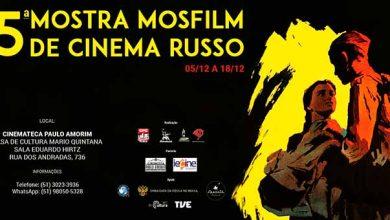 Photo of Confira a programação da Mostra de Cinema Russo em Porto Alegre