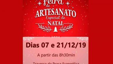 Photo of Venâncio Aires realiza Feira de Artesanato de Natal neste sábado