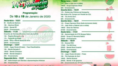 Photo of Confira a programação da 14ª Festa da Melancia de Parobé