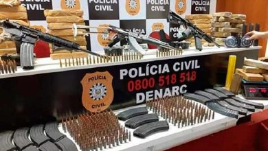 Photo of Polícia Civil apreende três fuzis e 47 Kg de maconha em POA