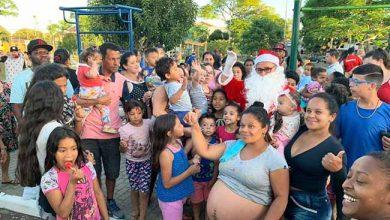 Photo of Teve Chegada do Papai Noel na Florença em Viamão
